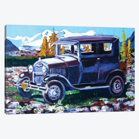 Model A Ford Canvas Print #SCD30} by Scott Clendaniel Canvas Artwork
