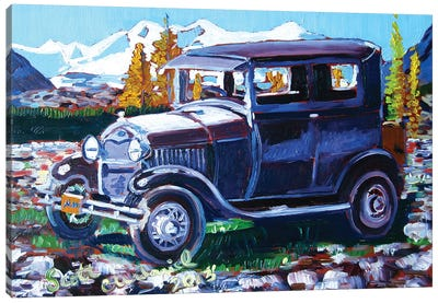Model A Ford Canvas Art Print