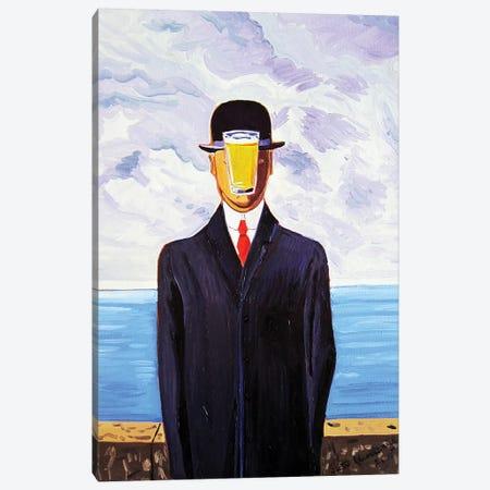 Pint Of Man Canvas Print #SCD33} by Scott Clendaniel Canvas Wall Art