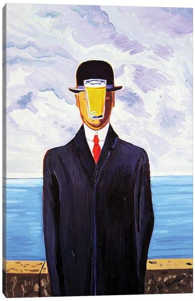 Pint Of Man Canvas Art Print