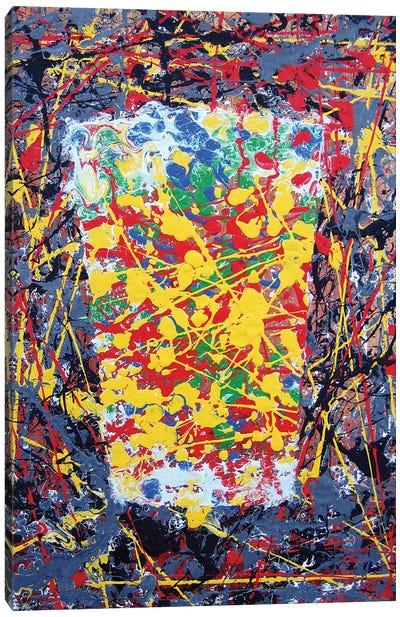 Pollock Pint Canvas Art Print