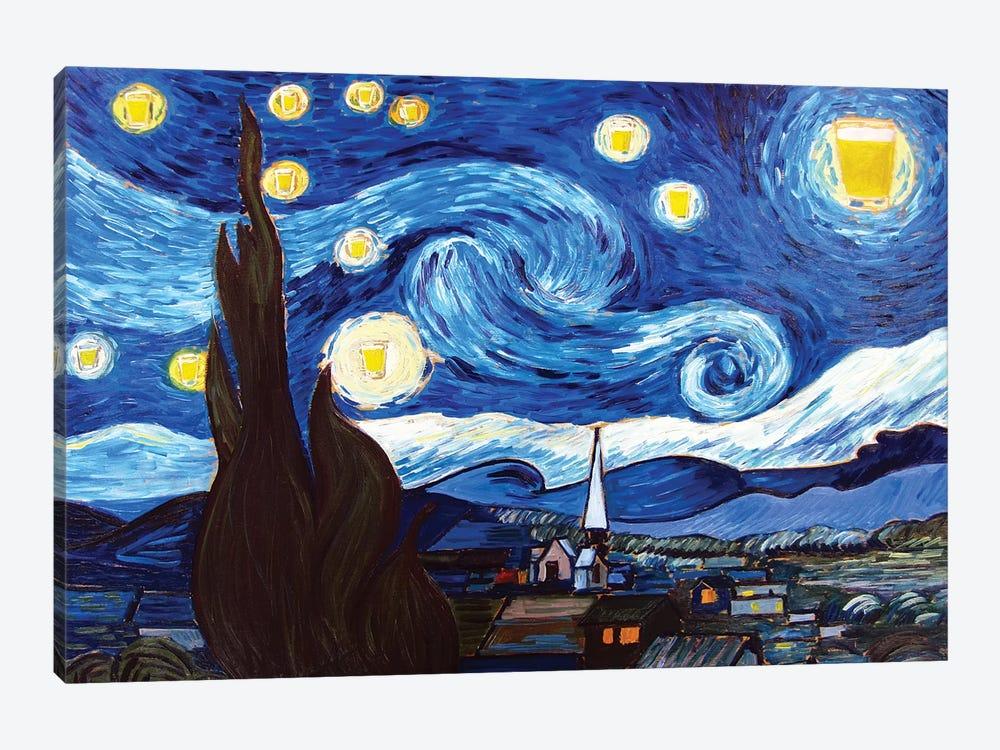 Starry Pint by Scott Clendaniel 1-piece Art Print