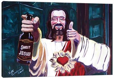 Sweet Jesus Canvas Art Print