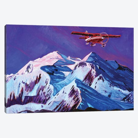 Talkeetna Retreat Canvas Print #SCD42} by Scott Clendaniel Canvas Art Print