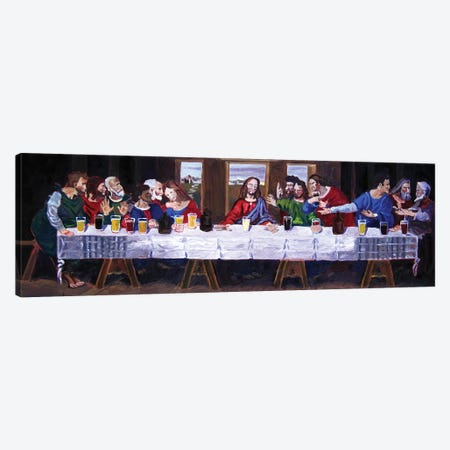 The Last Beer Tasting Canvas Print #SCD46} by Scott Clendaniel Canvas Art