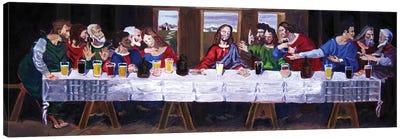The Last Beer Tasting Canvas Art Print