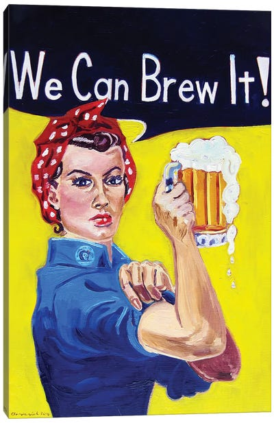 We Can Brew It Canvas Art Print