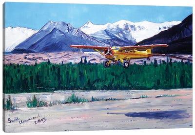 Wrangell Mountain Landing Canvas Art Print