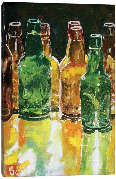 Bottling Day Canvas Art Print