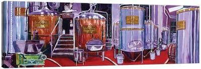 Brewing Process Canvas Art Print