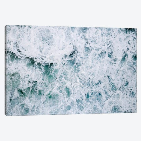 Abstract Splashing Water Waves In The Ocean Canvas Print #SCE113} by Michael Schauer Canvas Art