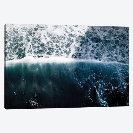 Sun Wave In The Atlantic Ocean Canvas Print #SCE116} by Michael Schauer Canvas Art Print