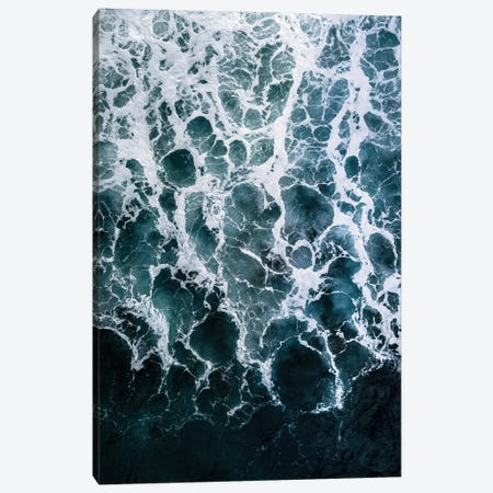 Minimalistic Veins In A Wave Canvas Print #SCE117} by Michael Schauer Canvas Art Print