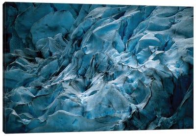 Blue Glacier In Norway Canvas Art Print