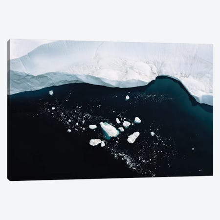Silent Icebergs In Greenland Canvas Print #SCE146} by Michael Schauer Canvas Art