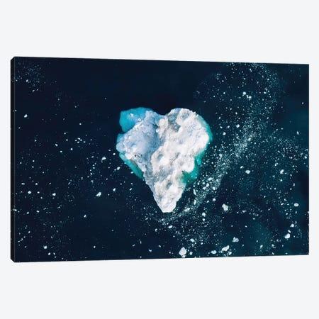 Heart In The Frozen Ocean Canvas Print #SCE147} by Michael Schauer Canvas Art