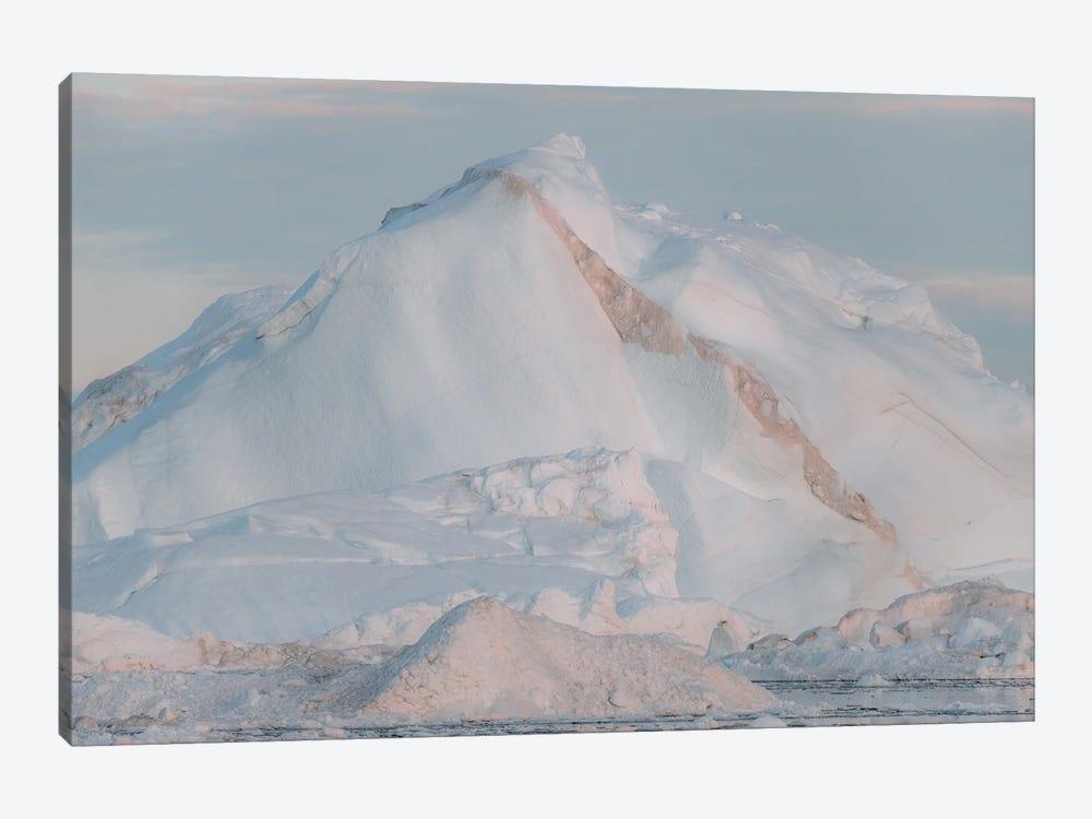 Iceberg In Warm Sunset Light by Michael Schauer 1-piece Canvas Artwork
