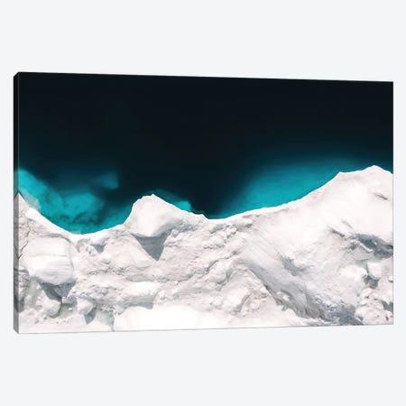 Minimalist Iceberg In Greenland Canvas Print #SCE158} by Michael Schauer Canvas Artwork
