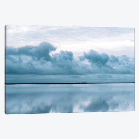Epic Perfect Sky Reflection In Iceland Canvas Print #SCE96} by Michael Schauer Canvas Art