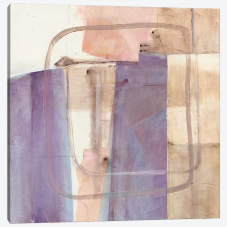 Passage I Blush Purple Canvas Print #SCH79} by Mike Schick Canvas Artwork