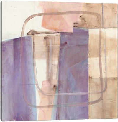 Passage I Blush Purple Canvas Art Print