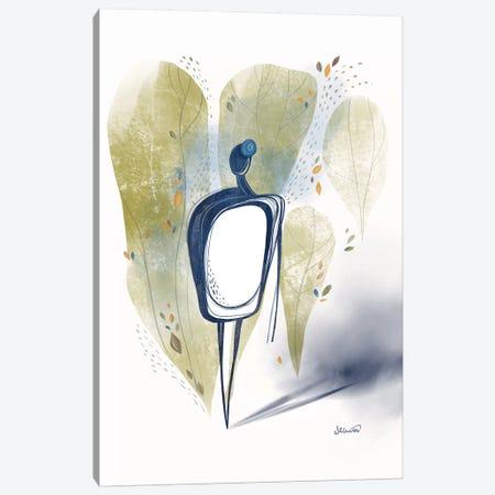 Walk Canvas Print #SCI100} by Soul Curry Art & Illustrations Canvas Art Print