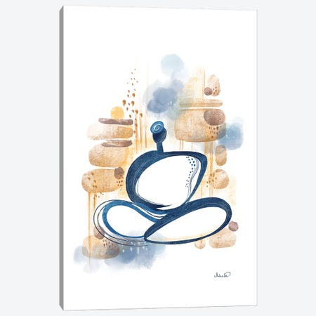 Zen Canvas Print #SCI101} by Soul Curry Art & Illustrations Art Print