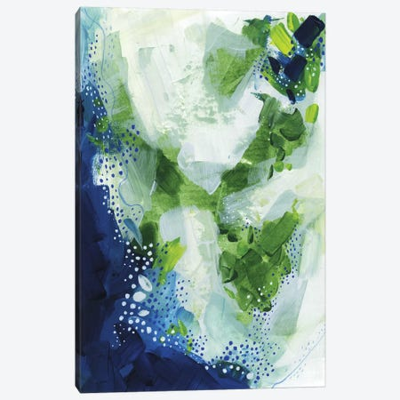 Interlude: Nature Abstract Canvas Print #SCI111} by Soul Curry Art & Illustrations Canvas Wall Art
