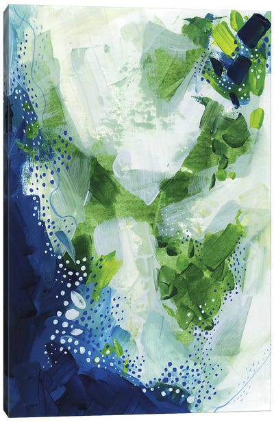 Interlude: Nature Abstract Canvas Art Print