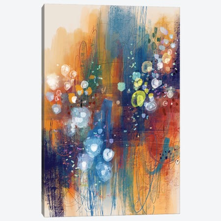Scattered Meadows Canvas Print #SCI115} by Soul Curry Art & Illustrations Art Print