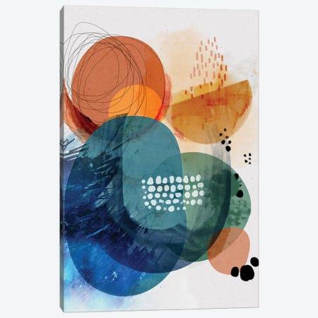 Ocean Rock Canvas Print #SCI117} by Soul Curry Art & Illustrations Canvas Art Print