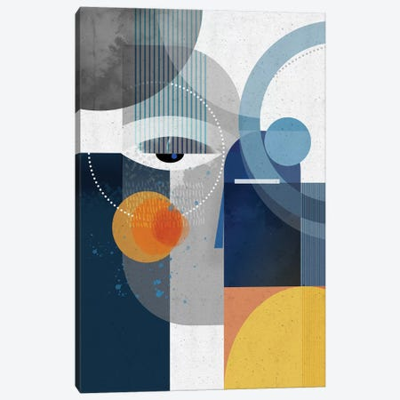 Obsedian Canvas Print #SCI121} by Soul Curry Art & Illustrations Canvas Art Print