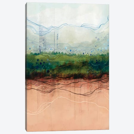 Fields Canvas Print #SCI129} by Soul Curry Art & Illustrations Canvas Art Print