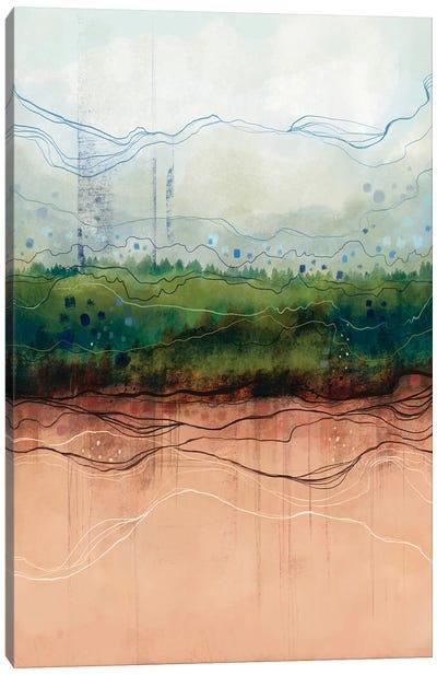 Fields Canvas Art Print