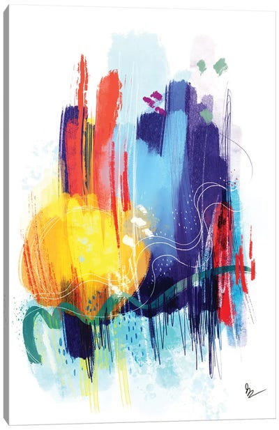 Saturate Canvas Art Print