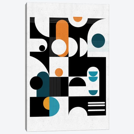 Bauhaus Canvas Print #SCI138} by Soul Curry Art & Illustrations Canvas Wall Art
