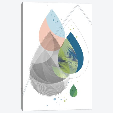 Elemental - Rain Canvas Print #SCI16} by Soul Curry Art & Illustrations Canvas Art