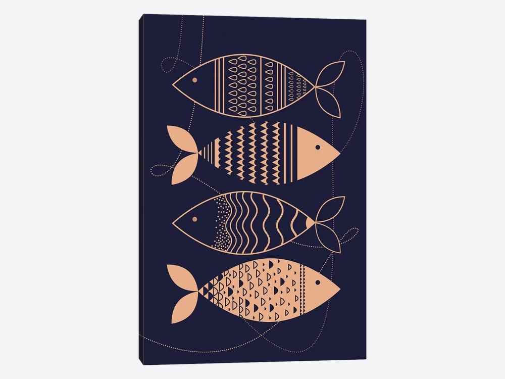 Matsya by Soul Curry Art & Illustrations 1-piece Canvas Art Print