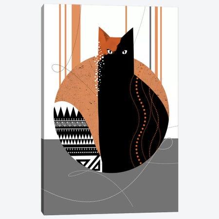 Maui Cat Canvas Print #SCI26} by Soul Curry Art & Illustrations Canvas Print