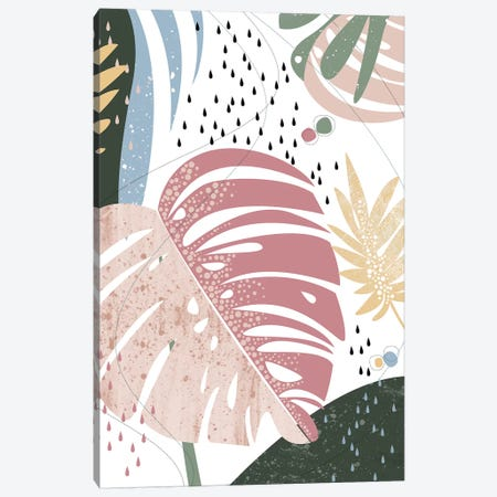 Rain Forest Canvas Print #SCI34} by Soul Curry Art & Illustrations Canvas Wall Art
