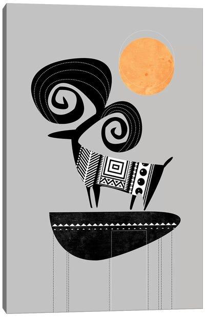 Ram Canvas Art Print