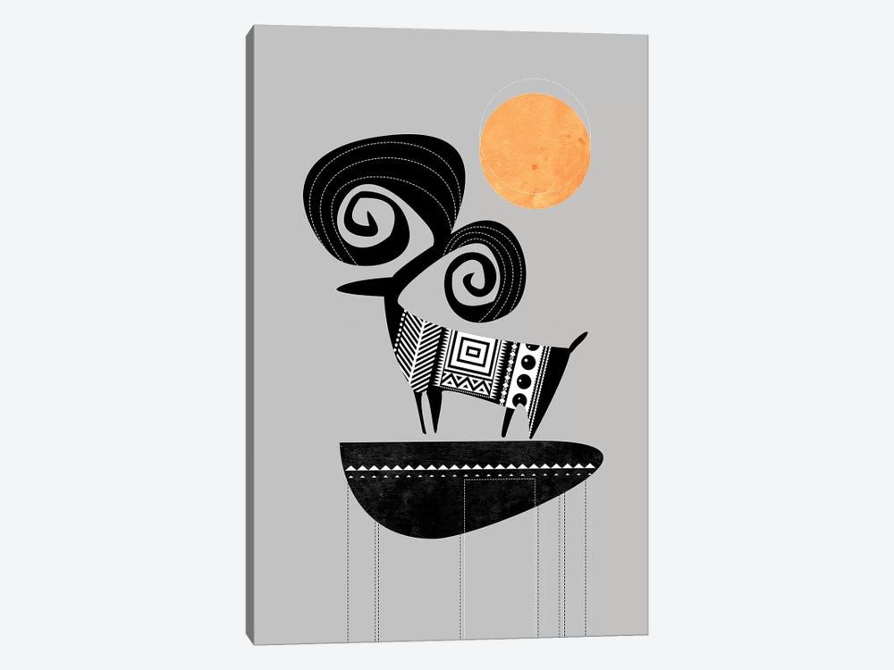Ram by Soul Curry Art & Illustrations 1-piece Canvas Wall Art