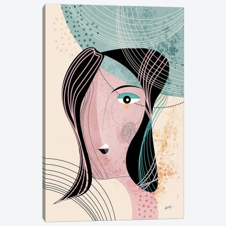 The Muse Canvas Print #SCI49} by Soul Curry Art & Illustrations Canvas Art