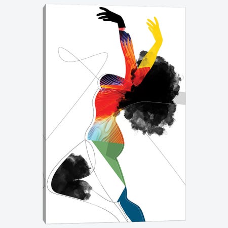 Vivid - Liberated Canvas Print #SCI51} by Soul Curry Art & Illustrations Canvas Art Print