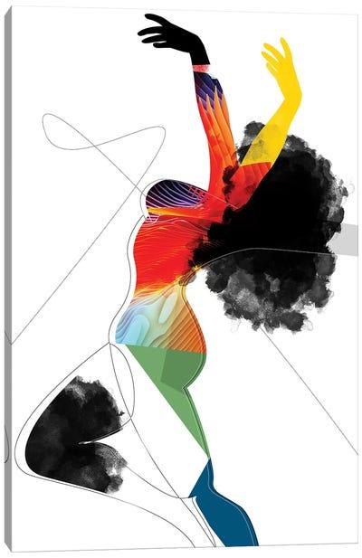 Vivid - Liberated Canvas Art Print