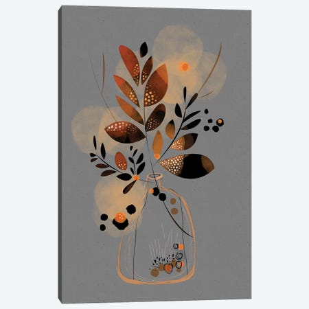 Dry Floral Bouquet Canvas Print #SCI66} by Soul Curry Art & Illustrations Art Print