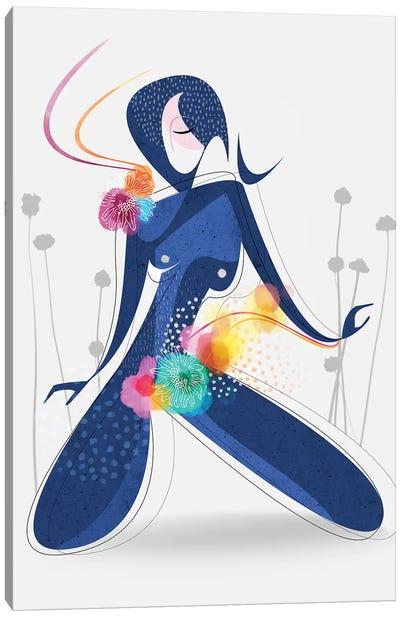 Garden Nymph Canvas Art Print