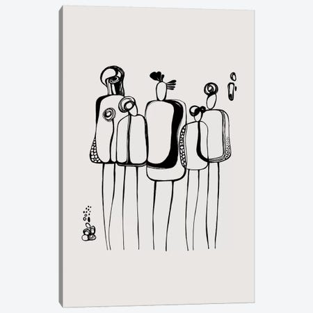Pod People VI Canvas Print #SCI76} by Soul Curry Art & Illustrations Canvas Art