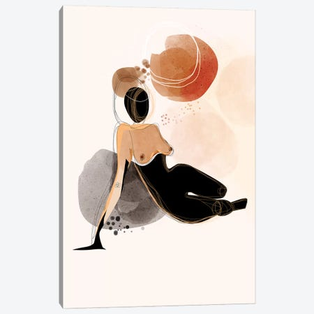 Shadow Canvas Print #SCI79} by Soul Curry Art & Illustrations Canvas Art Print