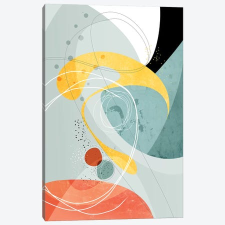 Crossings Canvas Print #SCI8} by Soul Curry Art & Illustrations Canvas Art